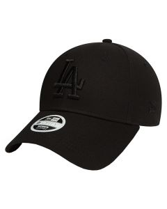 Los Angeles Dodgers New Era 9FORTY League Essential ženska kapa Black (80581115)