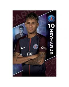 Paris Saint-Germain Neymar 10 Poster