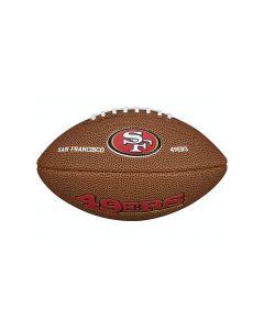 San Francisco 49ers Wilson žoga za ameriški nogomet Mini