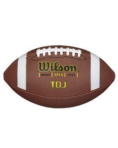 Wilson TDJ Composite Junior žoga za ameriški nogomet (WTF1713X)