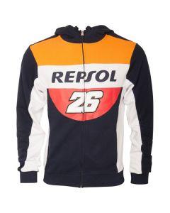 Dani Pedrosa DP26 Repsol zip majica sa kapuljačom