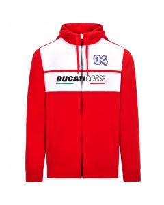 Andrea Dovizioso AD04 Ducati Corse Kapuzenjacke
