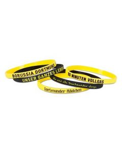 Borussia Dortmund 5x Silikon Armband
