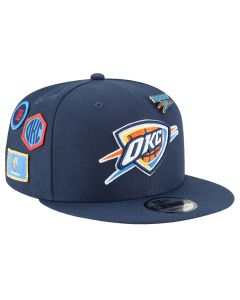 Oklahoma City Thunder New Era 9FIFTY 2018 NBA Draft kapa (11609140)