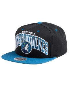 Minnesota Timberwolves Mitchell & Ness Current Team Arch Mütze
