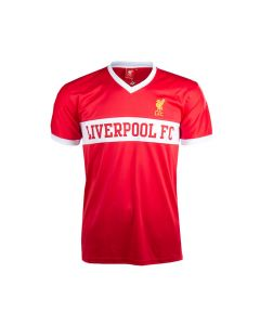 Liverpool V-Neck Panel Kinder Training T-Shirt