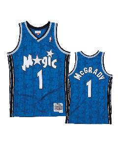 Tracy McGrady 1 Orlando Magic 2000-01 Mitchell & Ness Swingman Trikot