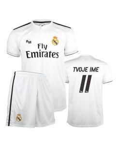 Real Madrid Home replika komplet otroški dres (poljubni tisk)