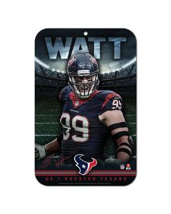 Houston Texans Schild J.J. Watt
