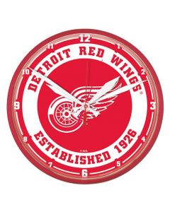 Detroit Red Wings Wanduhr