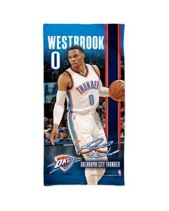Oklahoma Cithy Thunder Badetuch 76x152 Russell Westbrook