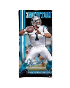 Carolina Panthers Badetuch 76x152 Cam Newton