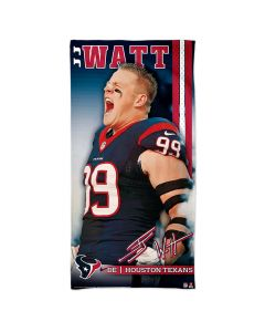 Houston Texans ručnik 76x152 J.J. Watt