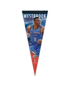 Oklahoma Cithy Thunder Premium kleine Fahne Russell Westbrook