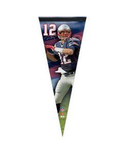 New England Patriots Premium zastavica Tom Brady