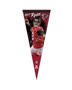 Atlanta Falcons Premium kleine Fahne Matt Ryan