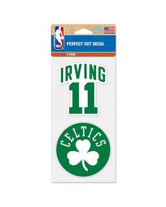 Boston Celtics 2x Aufkleber Kyrie Irving