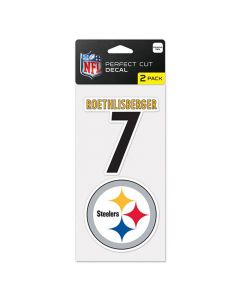 Pittsburgh Steelers 2x nalepnica Ben Roethlisberger