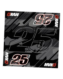 Maverick Vinales MV25 marama 50x50