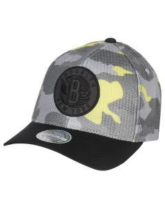 Brooklyn Nets Mitchell & Ness Flou Camo Flexfit 110 kapa