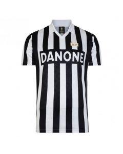 Juventus V-Neck UEFA Cup Home Retro Trikot 1993