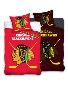 Chicago Blackhawks Glow In The Dark Bettwäsche 140x200