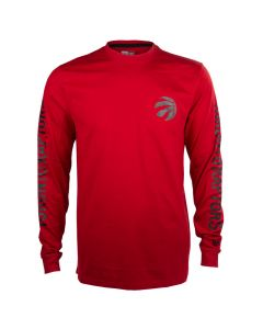 Toronto Raptors New Era Team Apparel T-Shirt langarm