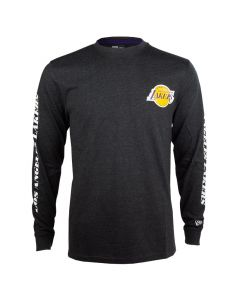 Los Angeles Lakers New Era Team Apparel T-Shirt langarm