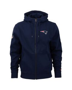New England Patriots New Era Team Apparel Number duks sa kapuljačom