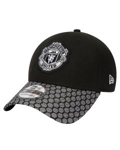 Manchester United New Era 39THIRTY Hex Weave Mütze