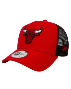 Chicago Bulls New Era Trucker Essential A Frame Mütze