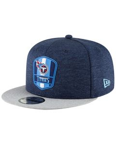 Tennessee Titans New Era 9FIFTY 2018 NFL Official Sideline Road Mütze
