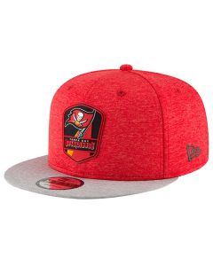 Tampa Bay Buccaneers New Era 9FIFTY 2018 NFL Official Sideline Road kačket