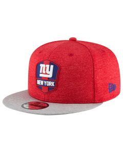 New York Giants New Era 9FIFTY 2018 NFL Official Sideline Road kapa