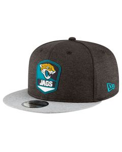 Jacksonville Jaguars New Era 9FIFTY 2018 NFL Official Sideline Road Mütze