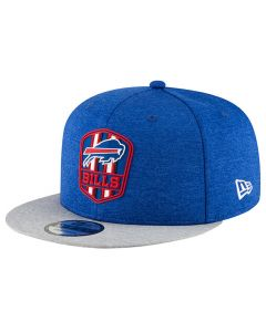 Buffalo Bills New Era 9FIFTY 2018 NFL Official Sideline Road kačket