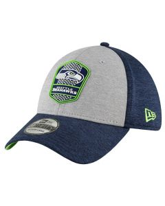 Seattle Seahawks New Era 9FIFTY 2018 NFL Official Sideline Road kapa