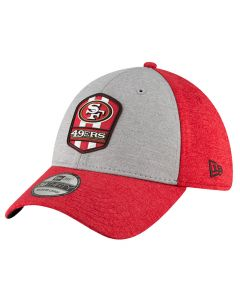 San Francisco 49ers New Era 39THIRTY 2018 NFL Official Sideline Road kačket