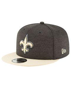 New Orleans Saints New Era 9FIFTY 2018 NFL Official Sideline Home kačket