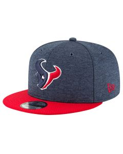 Houston Texans New Era 9FIFTY 2018 NFL Official Sideline Home Mütze