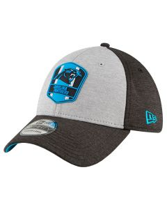 Carolina Panthers New Era 39THIRTY 2018 NFL Official Sideline Road Mütze
