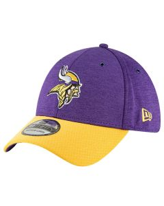 Minnesota Vikings New Era 39THIRTY 2018 NFL Official Sideline Home kapa