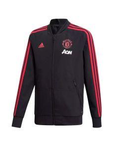 Manchester United Adidas Presentation Kinder Jacke