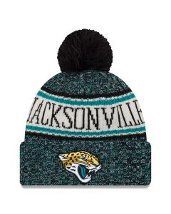 Jacksonville Jaguars New Era 2018 NFL Cold Weather Sport Knit zimska kapa