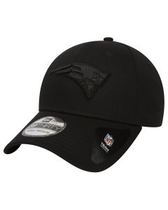 New England Patriots New Era 39THIRTY Black On Black kačket