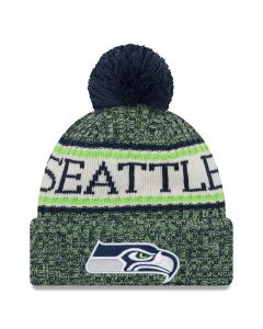 Seattle Seahawks New Era 2018 NFL Cold Weather Sport Knit zimska kapa