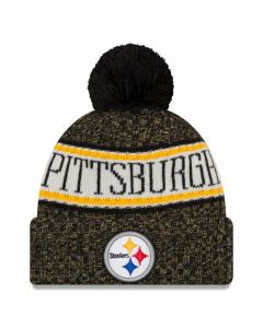 Pittsburgh Steelers New Era 2018 NFL Cold Weather Sport Knit Wintermütze