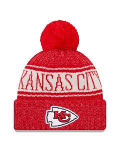 Kansas City Chiefs New Era 2018 NFL Cold Weather Sport Knit zimska kapa