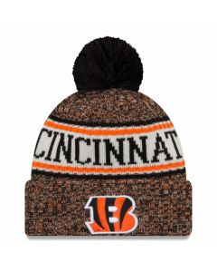 Cincinnati Bengals New Era 2018 NFL Cold Weather Sport Knit Wintermütze
