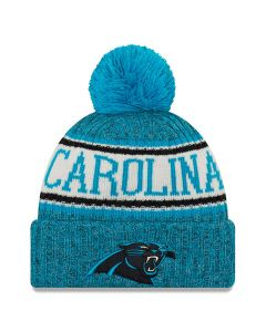 Carolina Panthers New Era 2018 NFL Cold Weather Sport Knit Wintermütze